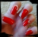 Hand painted full false nails