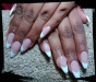 Acrylics sculptured french