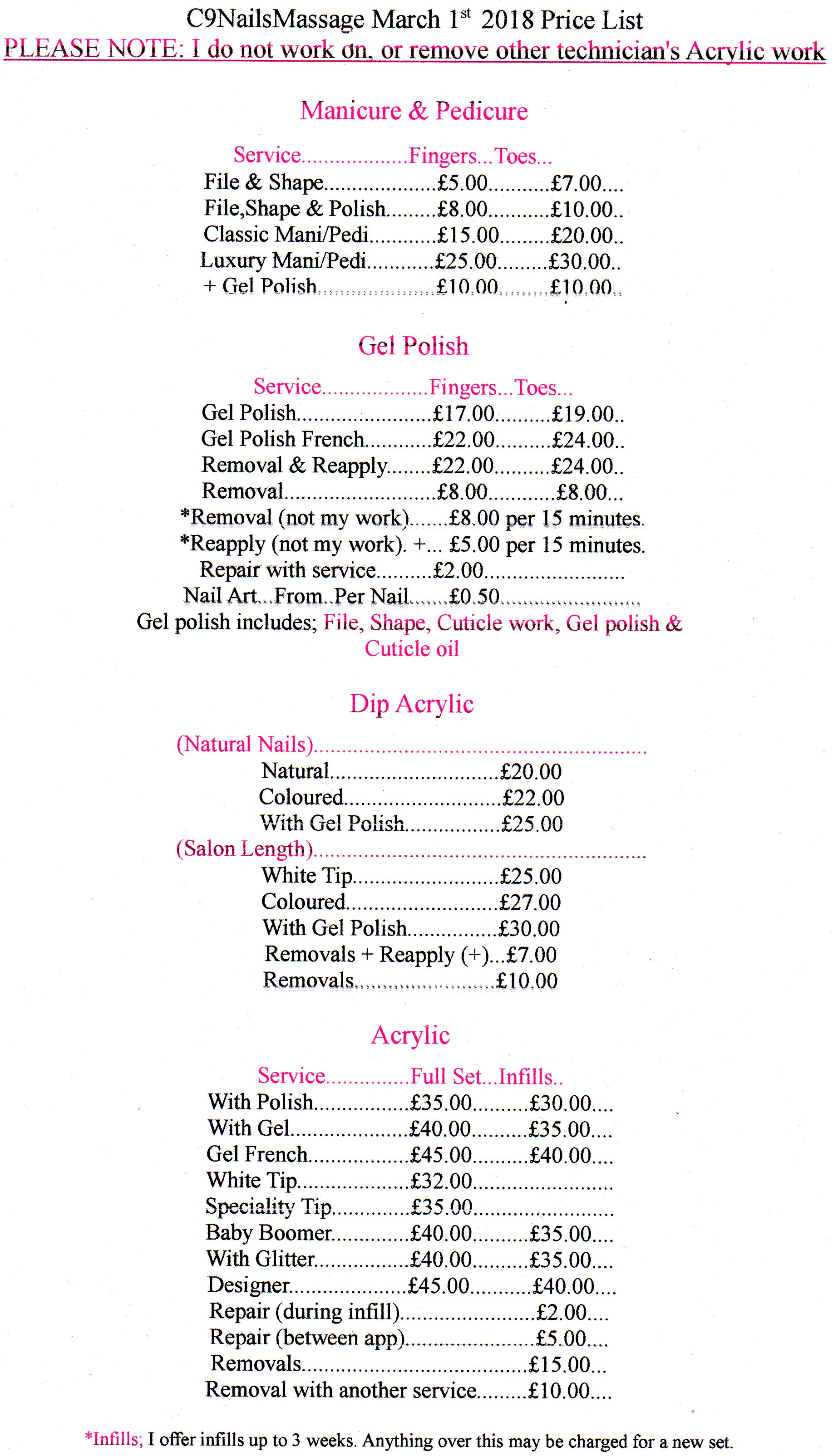 Gel Nails Price List Uk- HireAbility